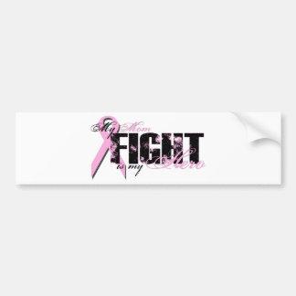 Mom Hero - Fight Breast Cancer Bumper Sticker
