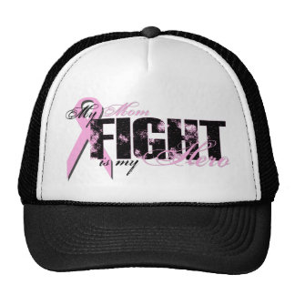Mom Hero - Fight Breast Cancer Cap