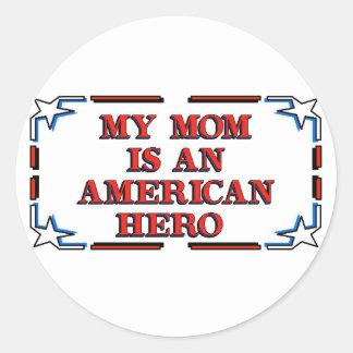Mom Hero Sticker