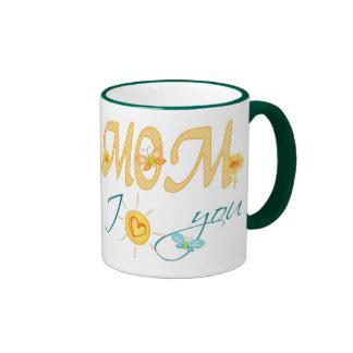 Mom, I Love You Ringer Mug