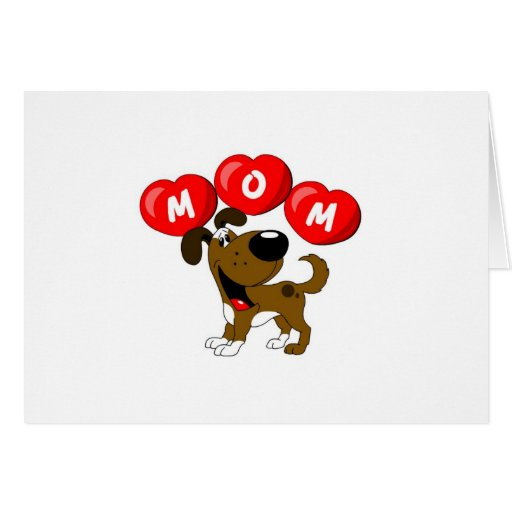 Mom in Hearts (Boots) Card