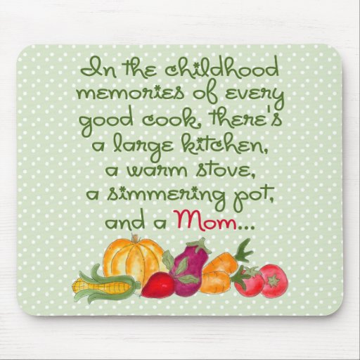 Mom In The Kitchen Mousepad