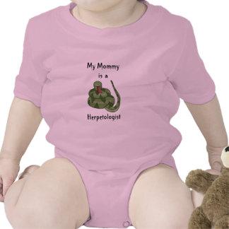 Mom is Herpetologist Rattlesnake Snake Lover Kids Tee Shirts