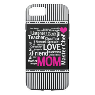 Mom is Love Mother's Day Gift for Do It All Mum iPhone 8/7 Case