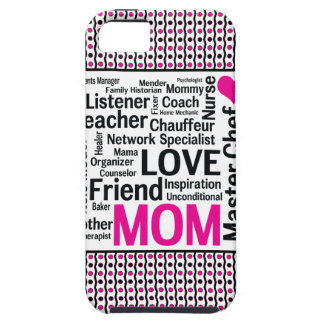 Mom is Love Mother's Day Gift Says it All iPhone 5 Cases