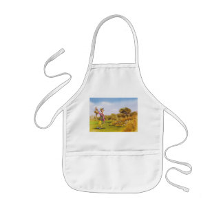 Mom is the best kids apron