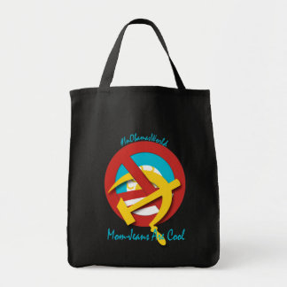 Mom-Jeans are cool Grocery Tote Bag