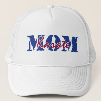 MOM karate Trucker Hat