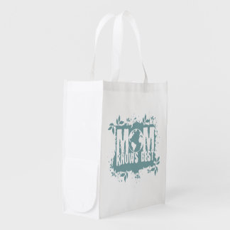 Mom Knows Best Organic Planet Reusable Canvas Bag Reusable Grocery Bag