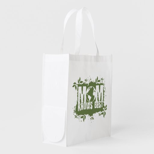 Mom Knows Best Organic Planet Reusable Canvas Bag Market Tote