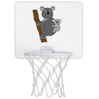 Mom koala mini basketball hoop