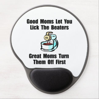 Mom Lick The Beaters Gel Mouse Pad