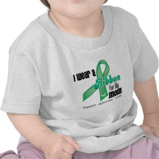 Mom - Liver Cancer Ribbon T Shirt