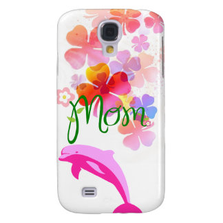 Mom Love Floral Heart Blossom Vines Destiny Sports Samsung Galaxy S4 Cases