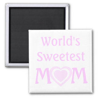 MOM Love Mother's Day Gift Magnet