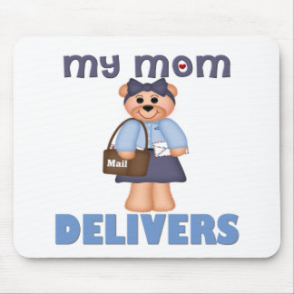 Mom Mail Carrier Mousepad