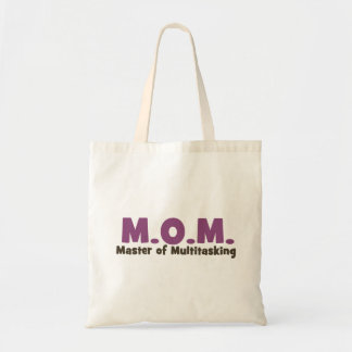 MOM Master of Multitasking Budget Tote Bag