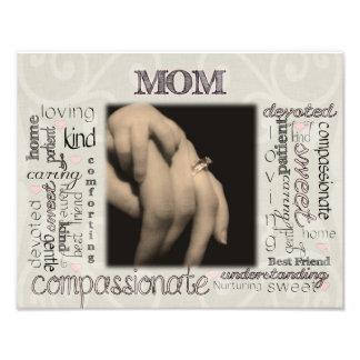 Mom Montage Photo Print