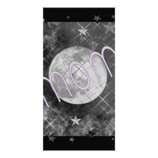 Mom Moon Photo Card Template
