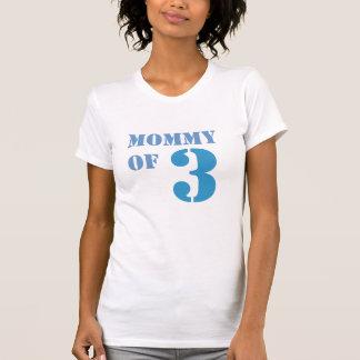 Mom of Three T-Shirt