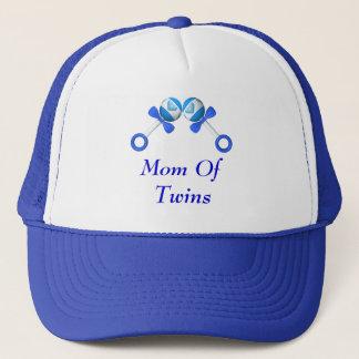 Mom Of Twin Boys Hat