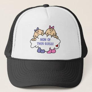 Mom of Twin Girls Trucker Hat