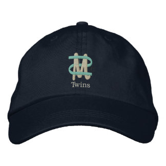 Mom of Twins [2-Drk] Embroidered Hat