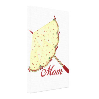 Mom (parasol) gallery wrapped canvas