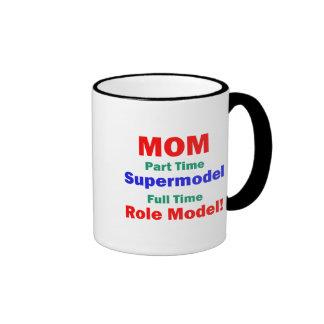 Mom Part Time Supermodel Mug