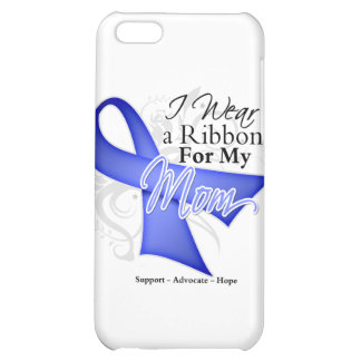 Mom Periwinkle Ribbon - Stomach Cancer Cover For iPhone 5C
