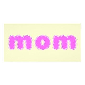 Mom Custom Photo Card