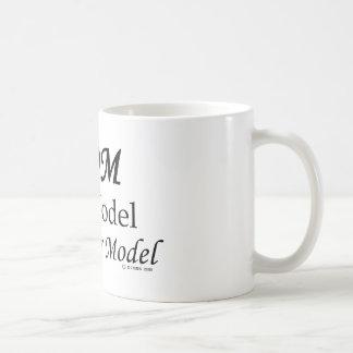 Mom, Role Model, Not Super Model! Mug