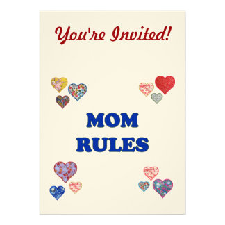 Mom Rules Announcement