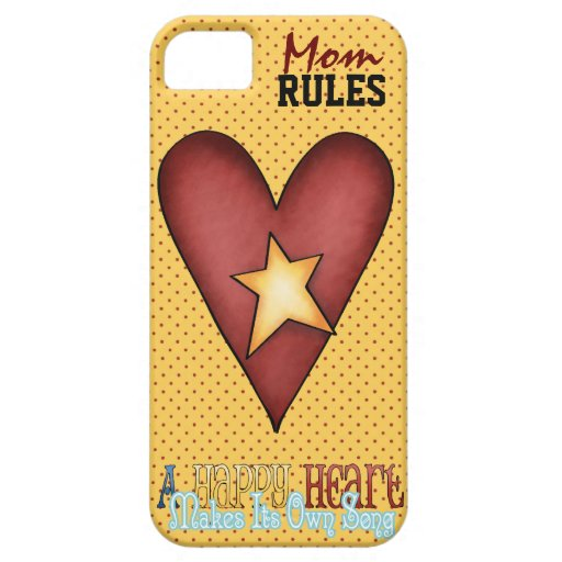 Mom Rules IPhone5 iPhone 5 Cover