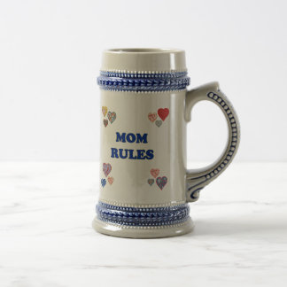 Mom Rules Coffee Mugs