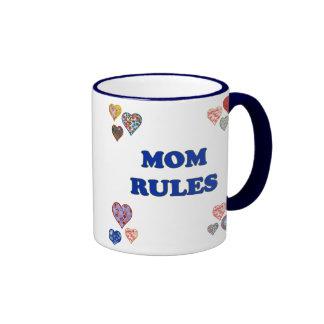 Mom Rules Coffee Mug
