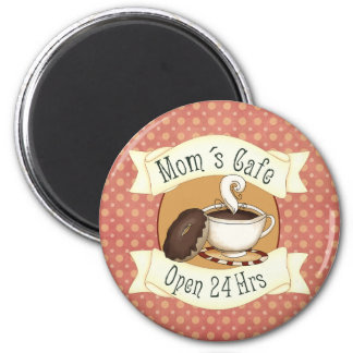 Mom´s Café 6 Cm Round Magnet