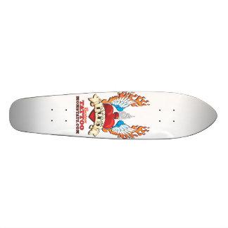 MOM S Custom Tattoo Skate Board