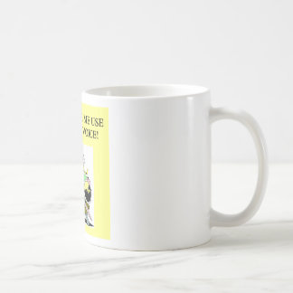 mom;s opera voice basic white mug