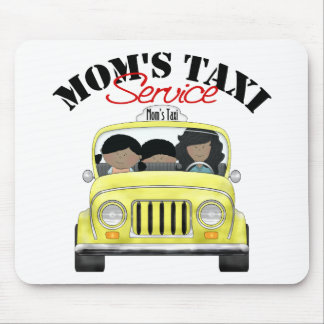 Mom s Taxi Service Mousepads