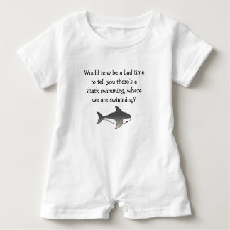 Mom...Shark! Baby Bodysuit