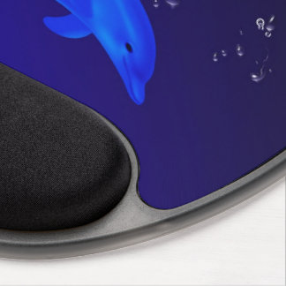 Mom & son dolphins gel mouse mat