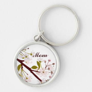 Mom Spring Blossoms Keychain