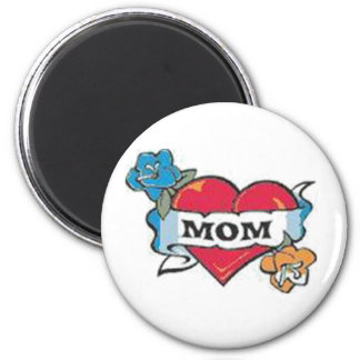 Mom Tattoo Magnet