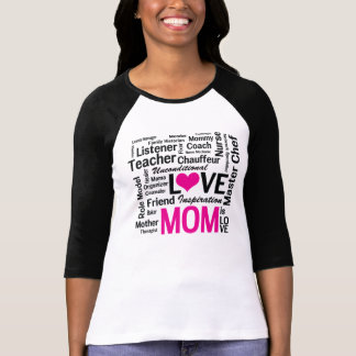 Mom the Multitasker - Mom is Love Tee Shirt