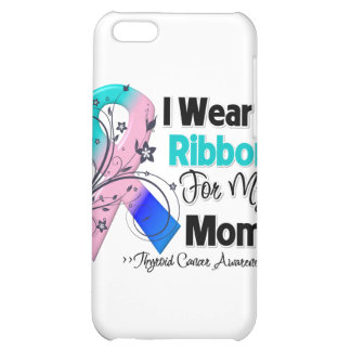 Mom - Thyroid Cancer Ribbon Case For iPhone 5C