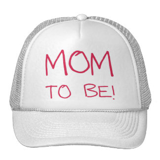 Mom to be! cap