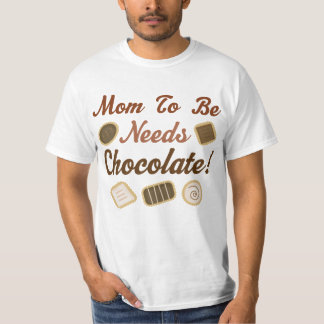 Mom to Be Chocolate T-Shirt