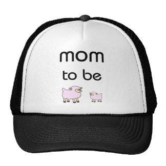 Mom to Be little sheeps design! Mesh Hats