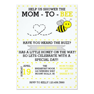 Mom-to-bee Card